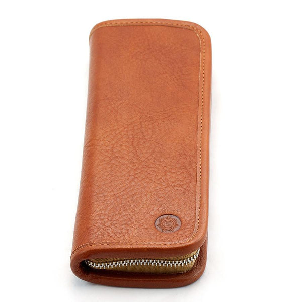 "Sonnenleder ""Boll"" Pen and Pencil Leather Case, Natural - Fendrihan - 2"