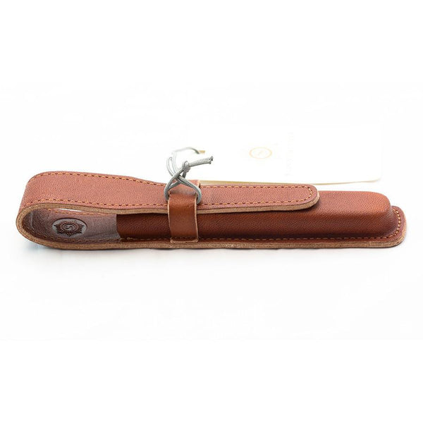 "Sonnenleder ""Handke"" Pen Leather Case, Natural - Fendrihan - 4"