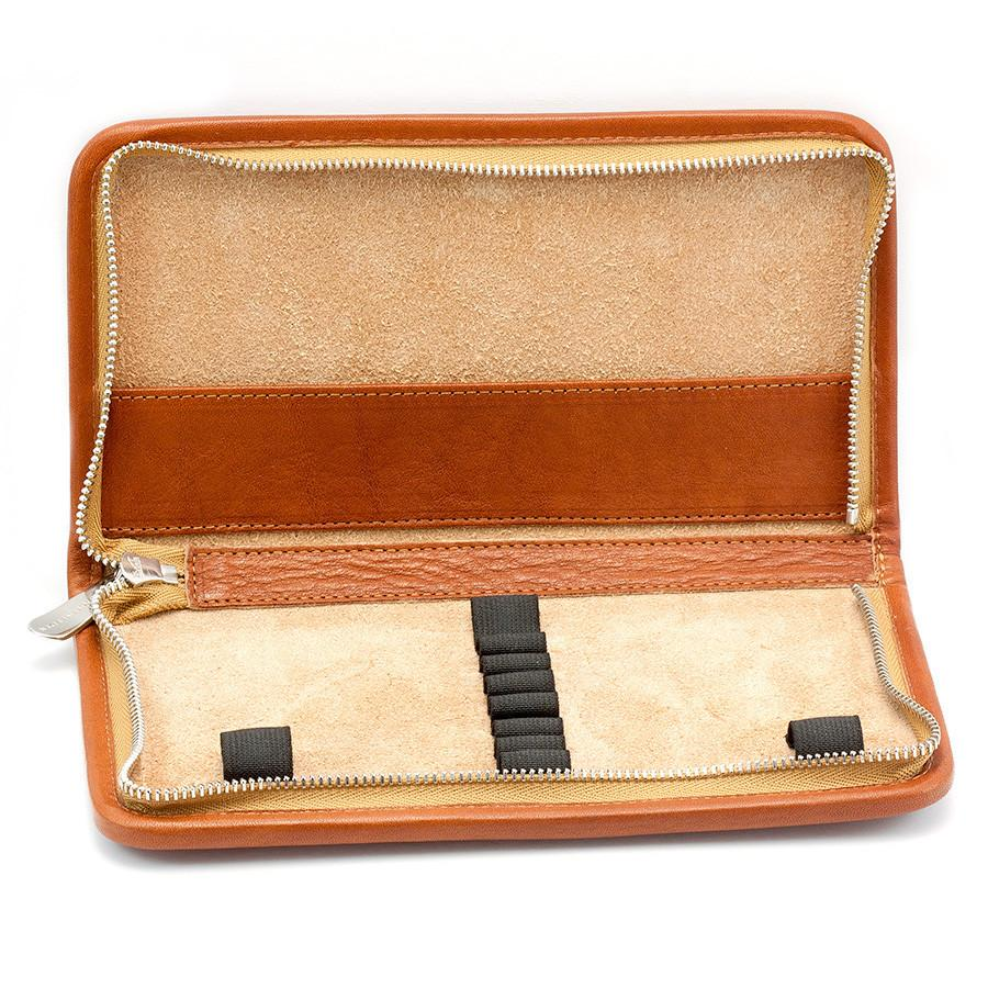 "Sonnenleder ""Nietzsche"" Pen and Pencil Leather Case Pen Case Sonnenleder"