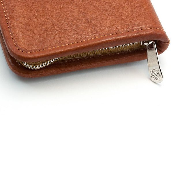 "Sonnenleder ""Nietzsche"" Pen and Pencil Leather Case, Natural - Fendrihan - 4"