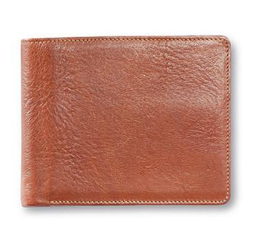 "Sonnenleder ""Lech"" Vegetable Tanned Leather Wallet with 8 CC Slots and Coin Pocket, Natural Leather Wallet Sonnenleder"
