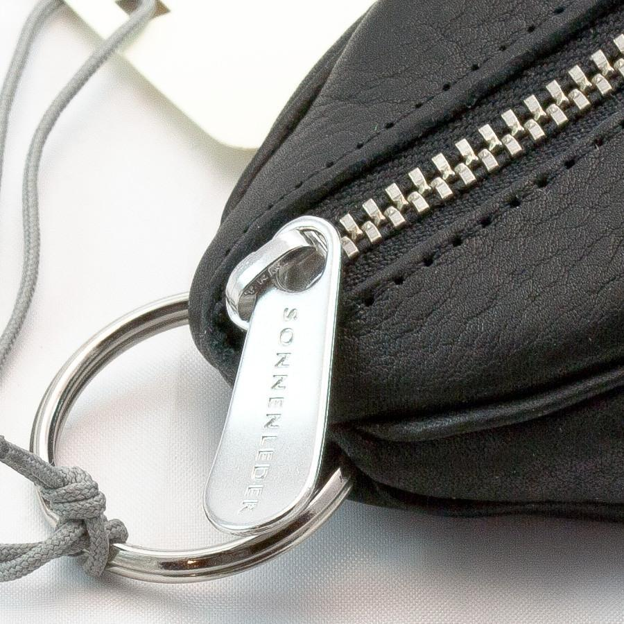 "Sonnenleder ""Puccini"" Naturally Tanned Leather Key Fob Key Case Sonnenleder"