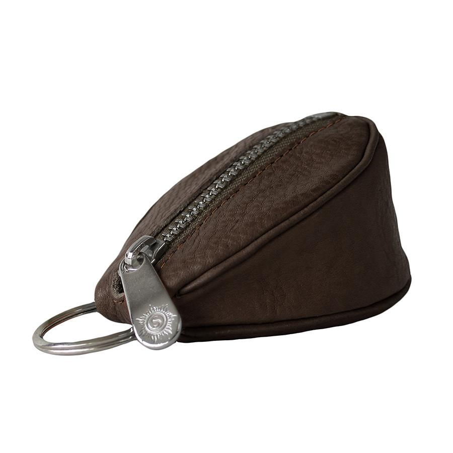 "Sonnenleder ""Puccini"" Naturally Tanned Leather Key Fob Key Case Sonnenleder Brown"