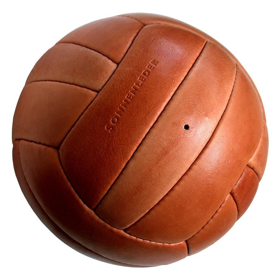 "Sonnenleder ""Torelli"" Limited Edition Vegetable Tanned Leather Soccer Ball, Natural Leather Soccer Ball Discontinued"