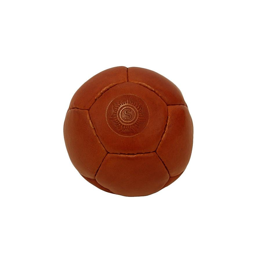 "Sonnenleder ""Rivel"" Vegetable Tanned Leather Juggling Ball, Natural Leather Juggling Ball Sonnenleder"