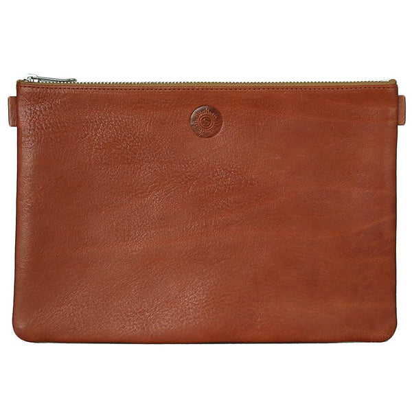 "Sonnenleder ""Weill"" Vegetable Tanned Leather Bank Pouch, Natural - Fendrihan - 1"