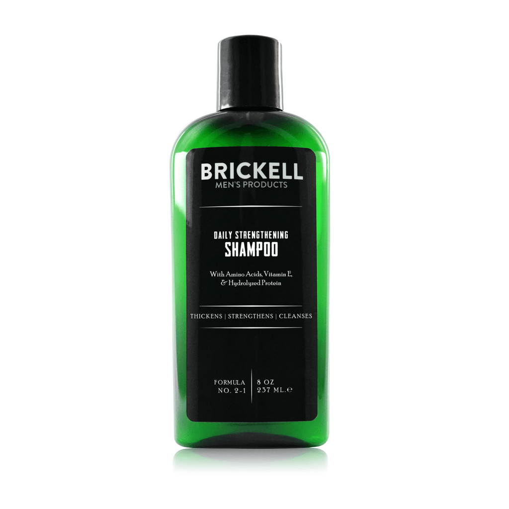 Brickell Daily Strengthening Shampoo with Amino Acids Men's Shampoo Brickell