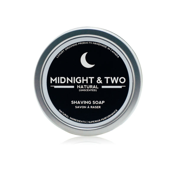 Midnight & Two Shaving Soap, Unscented