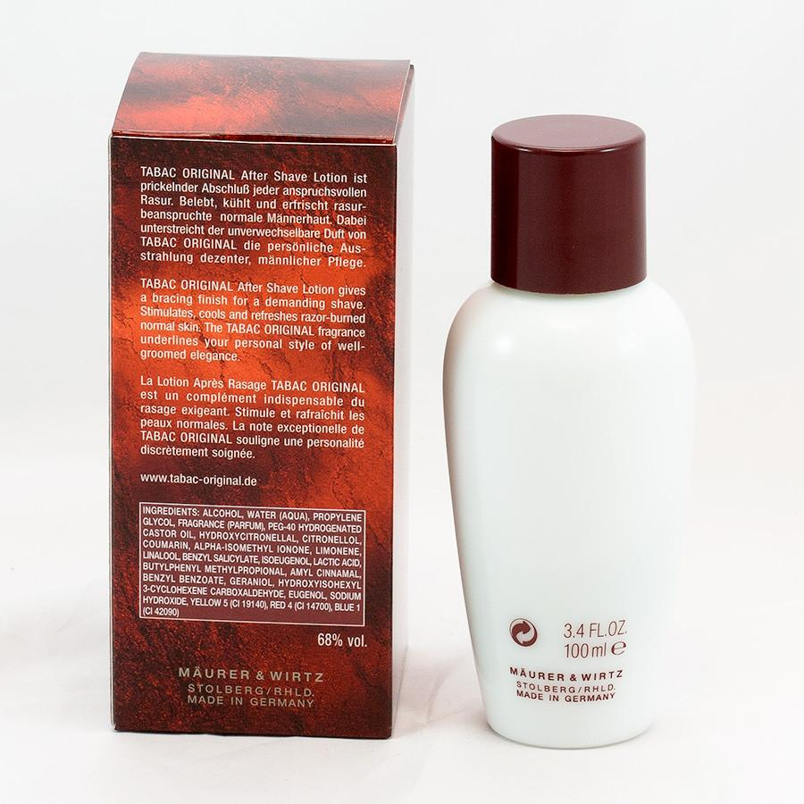 Tabac Original After Shave Lotion Aftershave Tabac