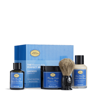 The Art of Shaving 4 Elements Bundle with Pure Shaving Brush Shaving Kit The Art of Shaving Lavender