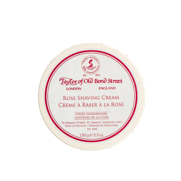 Taylor of Old Bond Street Shaving Cream Bowl, Rose - Fendrihan - 1