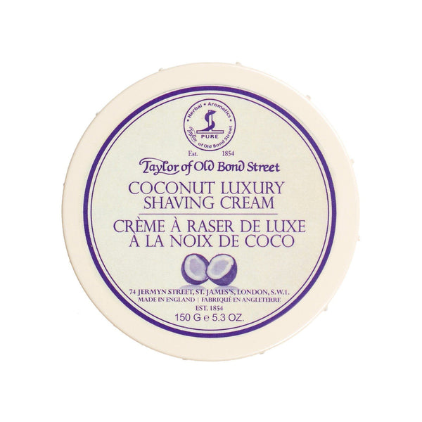 Taylor of Old Bond Street Shaving Cream Bowl, Coconut - Fendrihan - 1