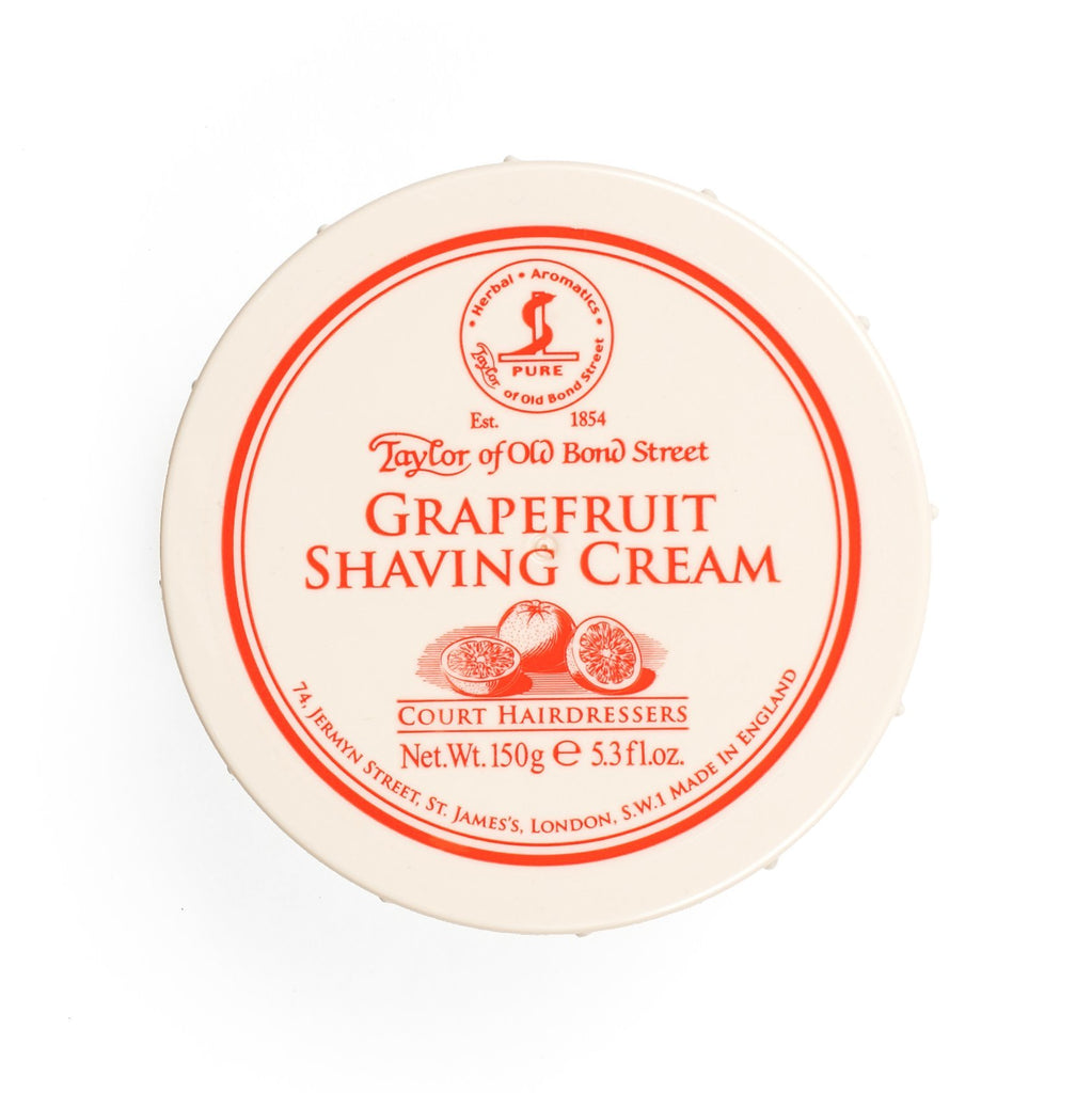 Taylor of Old Bond Street Shaving Cream Bowl, Grapefruit Shaving Cream Taylor of Old Bond Street