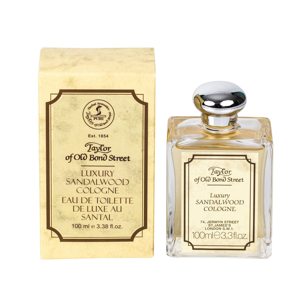 Taylor of Old Bond Street Sandalwood Cologne Fragrance for Men Taylor of Old Bond Street