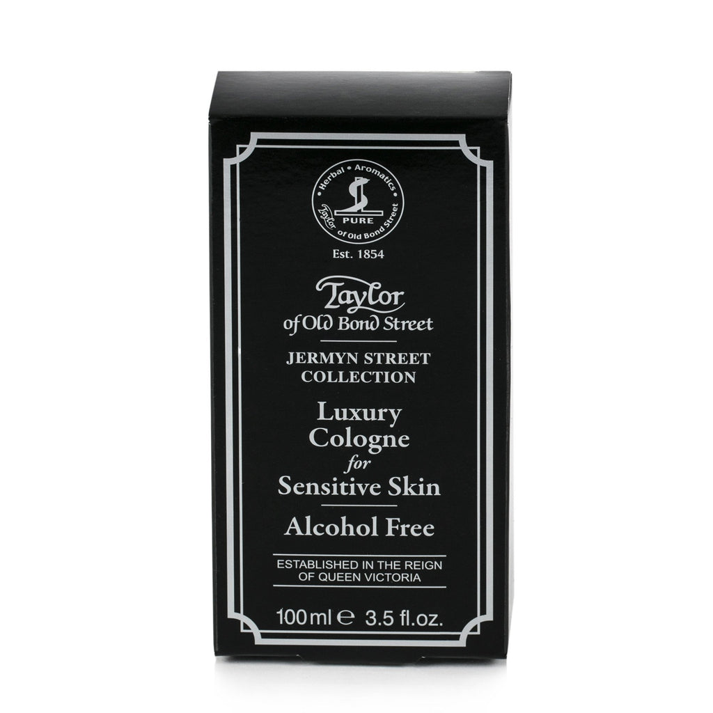 Taylor of Old Bond Street Jermyn Street Cologne for Sensitive Skin, Alcohol Free, 100 ml Men's Cologne Taylor of Old Bond Street