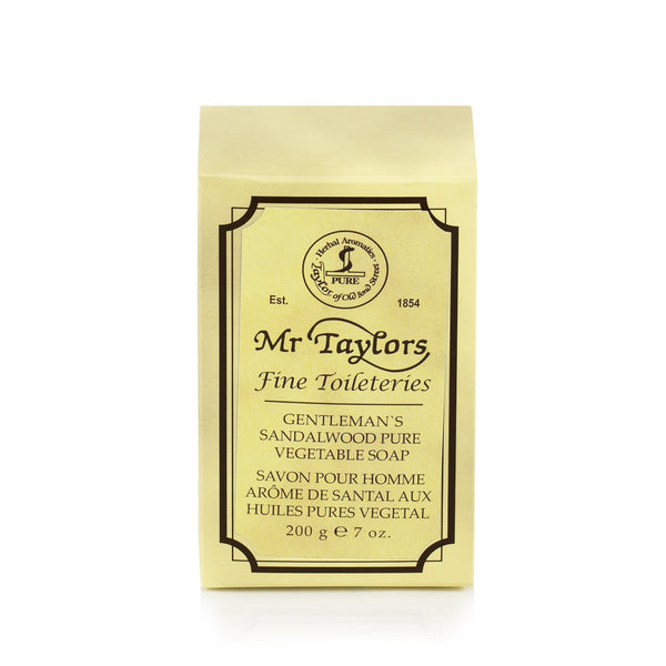Taylor of Old Bond Street Gentleman's Pure Vegetable Soap, Sandalwood - Fendrihan - 3