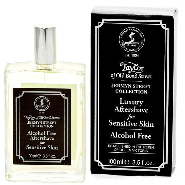 Taylor of Old Bond Street Jermyn Street for Sensitive Skin Alcohol-Free Luxury Aftershave - Fendrihan - 1