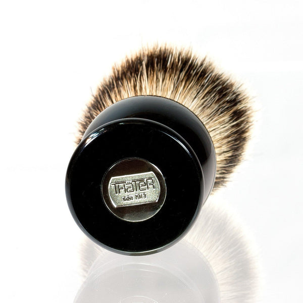 H.L. Thater 4292 Series Silvertip Shaving Brush with Black Handle, Size 6 - Fendrihan - 2