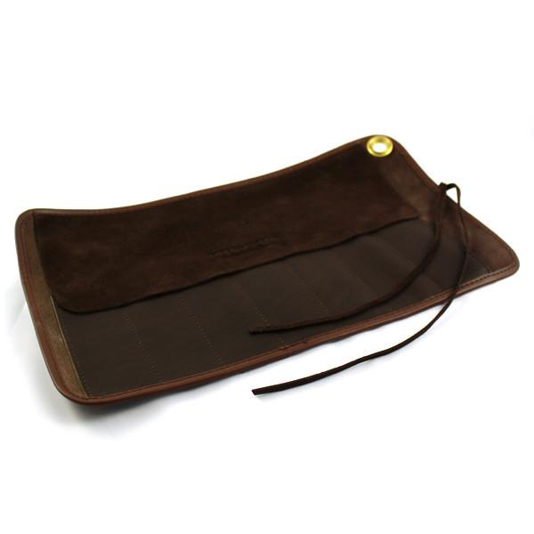 Thiers Issard Seven-Razor Brown Leather Carrying Case Grooming Travel Case Thiers Issard