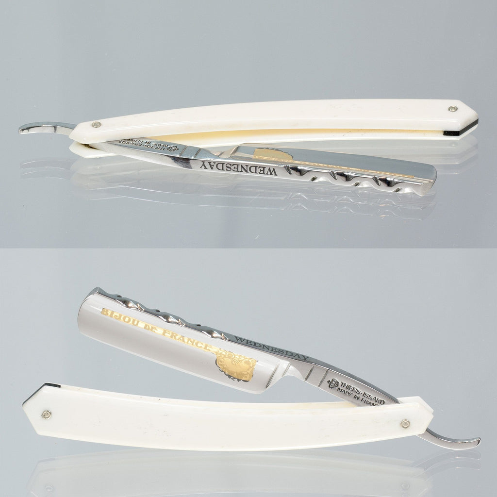 "Thiers Issard ""Bijou De France"" 7 Day Straight Razor Limited Editions Straight Razor Thiers Issard Wednesday"