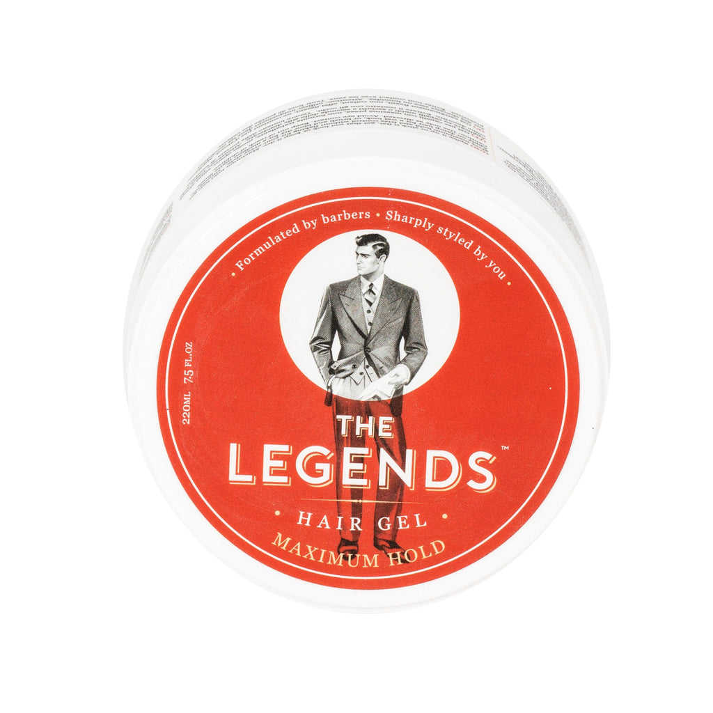 The Legends London Maximum Hold Hair Gel Men's Grooming Cream Other