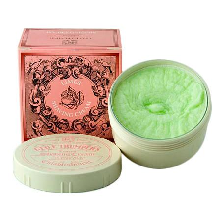 Geo F. Trumper Limes Shaving Cream, Large Tub - Fendrihan
