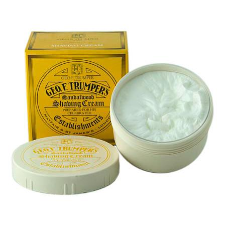 Geo. F. Trumper Sandalwood Shaving Cream, Large Tub - Fendrihan