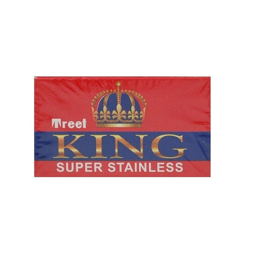 200 Treet King Super Stainless Double-Edge Safety Razor Blades - Fendrihan