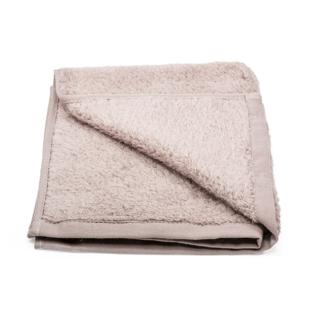 Uchino Premium Marshmallow Touch Zero Twist Yarn Face Towel Towel Uchino Brown