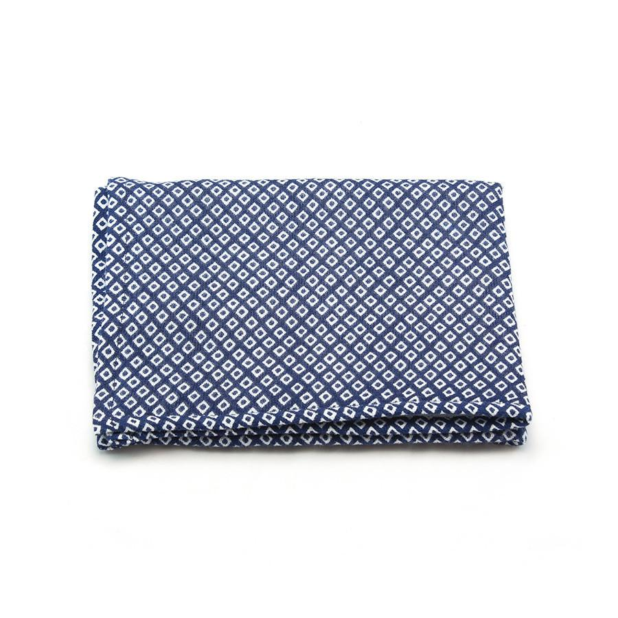 Uchino Japanese Hishi Pattern Double-Sided Cotton Towel Towel Uchino