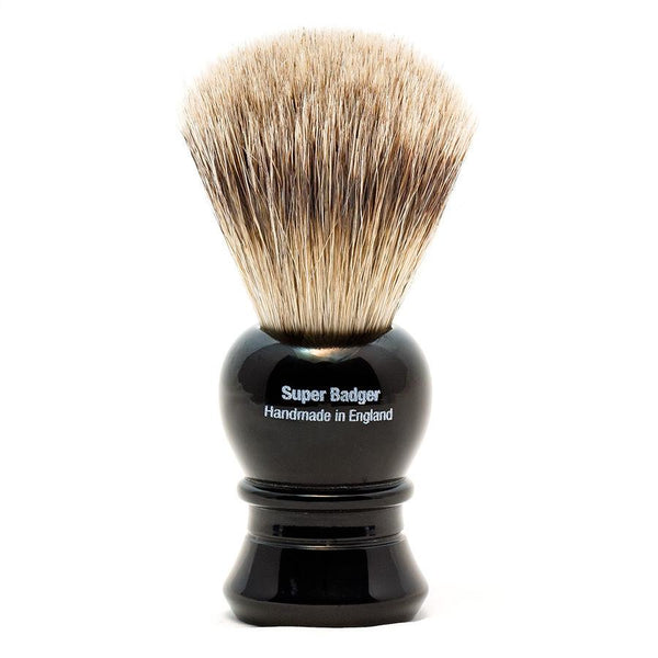 Vulfix 2233 Super Badger Shaving Brush, Black Handle - Fendrihan - 2