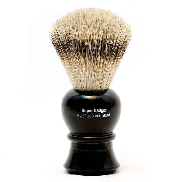 Vulfix 2234 Super Badger Shaving Brush, Black Handle - Fendrihan - 2