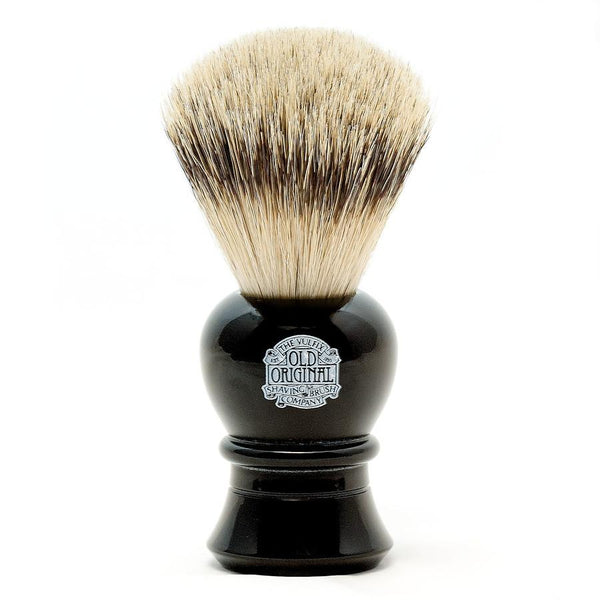 Vulfix 2234 Super Badger Shaving Brush, Black Handle - Fendrihan - 1