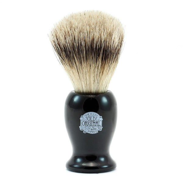 Vulfix 660S Medium Super Badger Shaving Brush & Stand, Black - Fendrihan - 2