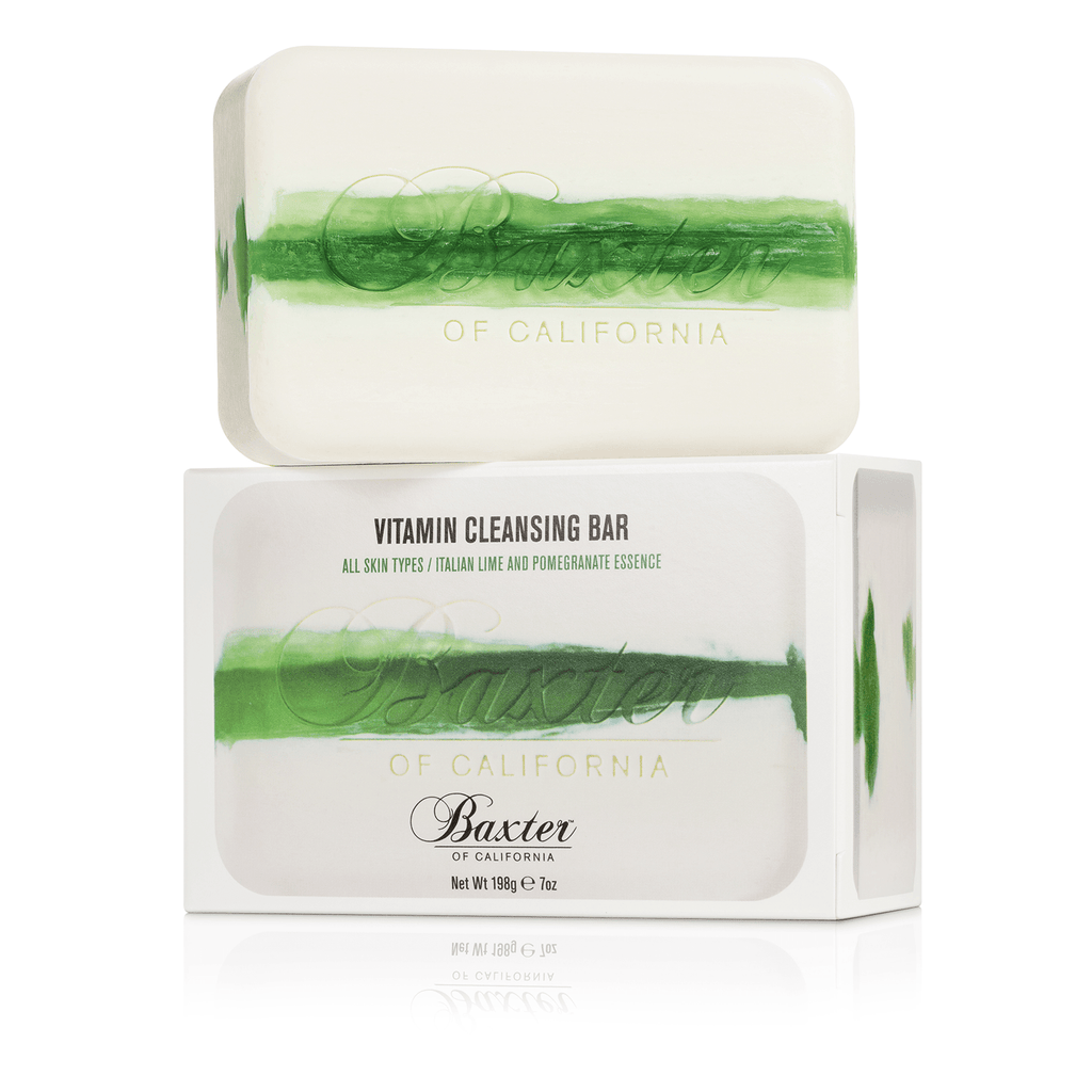 Baxter of California Vitamin Cleansing Bars Body Soap Baxter of California Italian Lime and Pomegranate