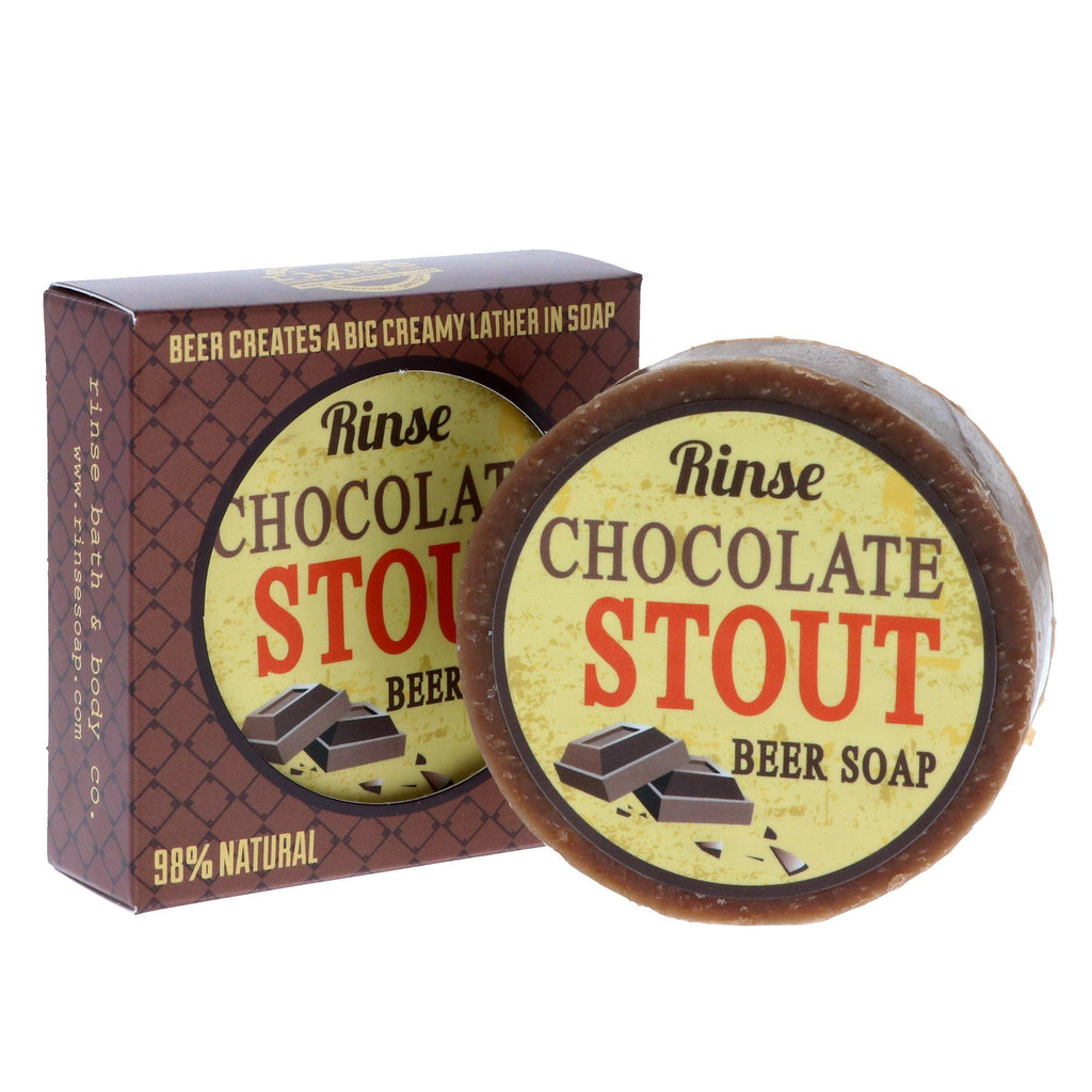 Rinse Bath & Body Co. Beer Soap Body Soap Rinse Bath & Body Co Chocolate Stout