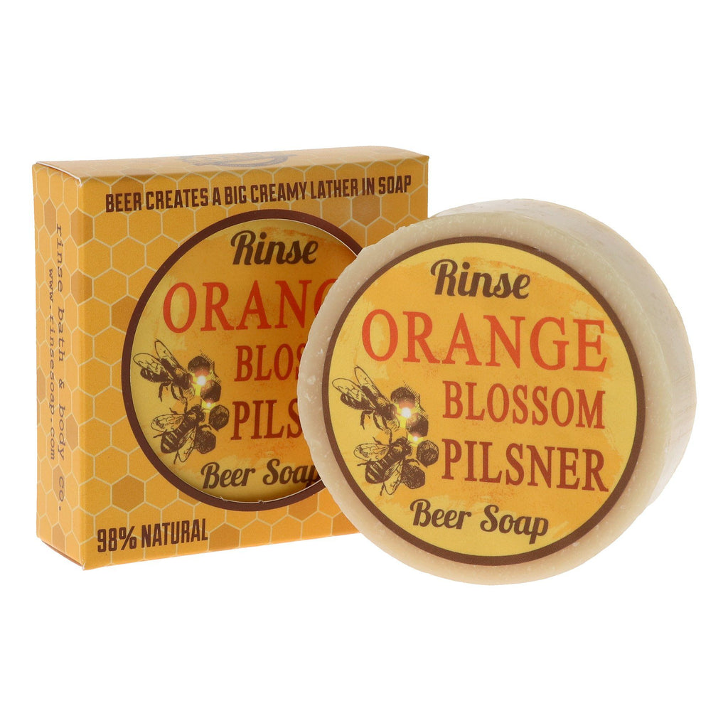 Rinse Bath & Body Co. Beer Soap Body Soap Rinse Bath & Body Co Orange Blossom Pilsner