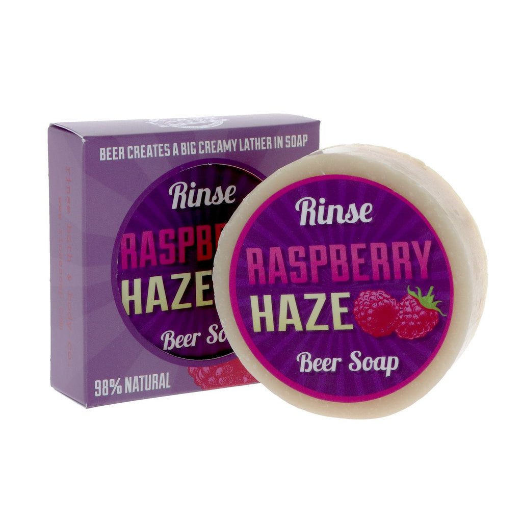 Rinse Bath & Body Co. Beer Soap Body Soap Rinse Bath & Body Co Raspberry Haze Beer