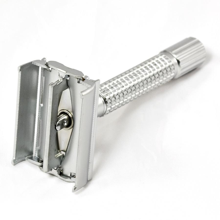 Weishi Classic Double-Edge Razor, Matt Finish Double Edge Safety Razor Weishi