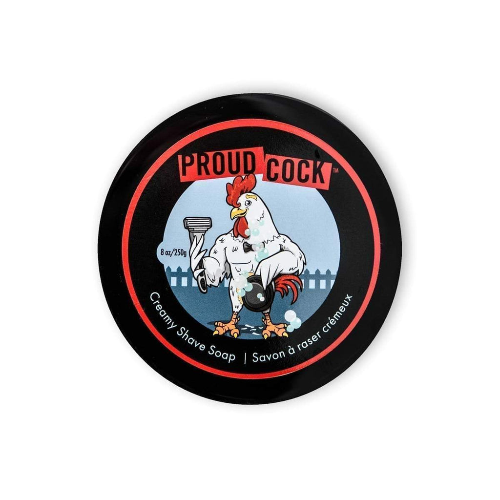 Walton Wood Farm Proud Cock Creamy Shave Soap Shaving Soap Walton Wood Farm