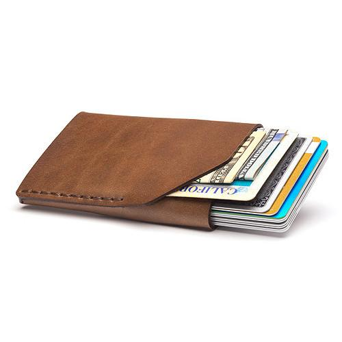 Bison No. 2 Wallet in Five Colors, English Bridle Leather by Hermann Oak, St. Louis - Fendrihan - 14