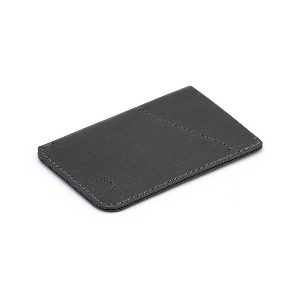 Bellroy Card Sleeve Slim Wallet Leather Wallet Bellroy Charcoal