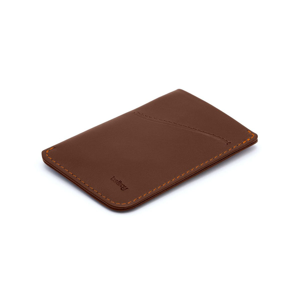 Bellroy Card Sleeve Slim Wallet Leather Wallet Bellroy Cocoa