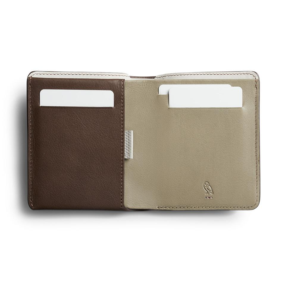 Bellroy Note Sleeve Leather Wallet, Premium Edition Leather Wallet Bellroy Darkwood