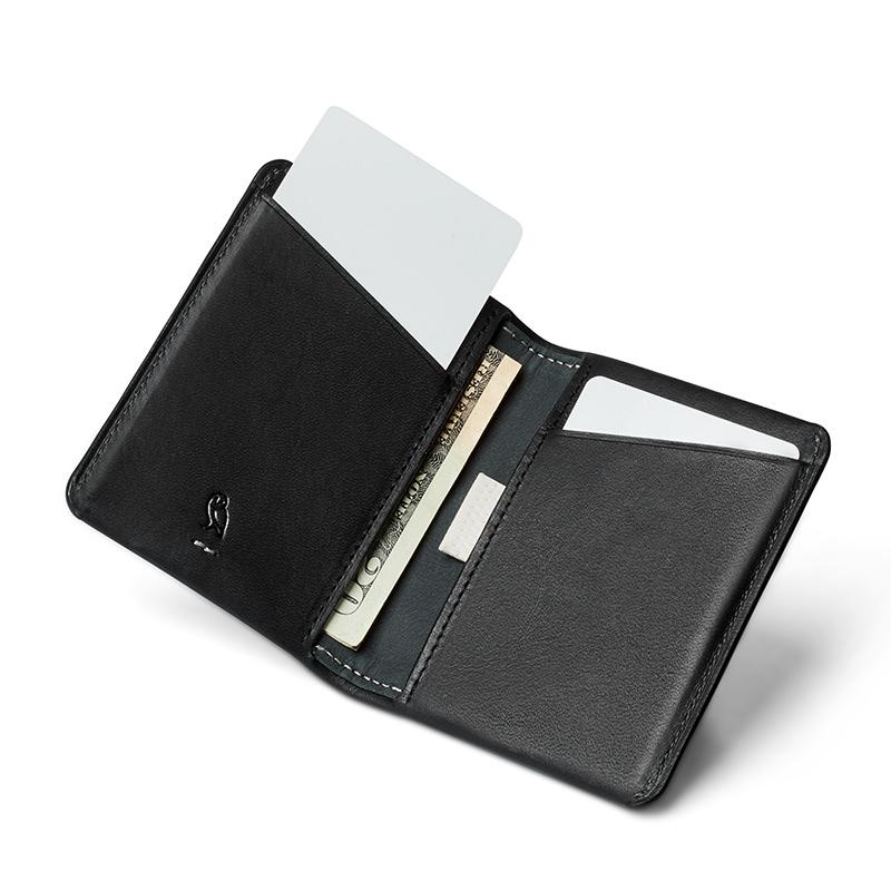 Bellroy Slim Sleeve Leather Wallet, Premium Edition Leather Wallet Bellroy