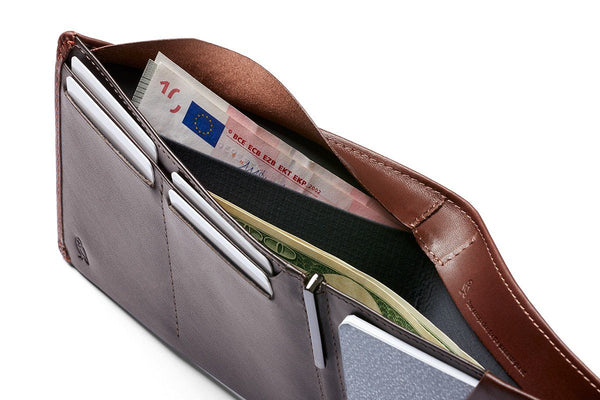 Bellroy Travel Leather Wallet, RFID