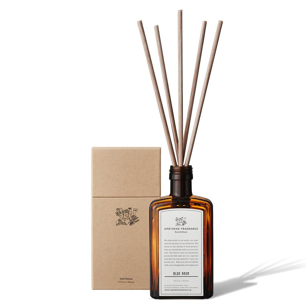 Apotheke Fragrance Reed Diffuser Sticks Refill Air Freshener Japanese Exclusives Blue Hour