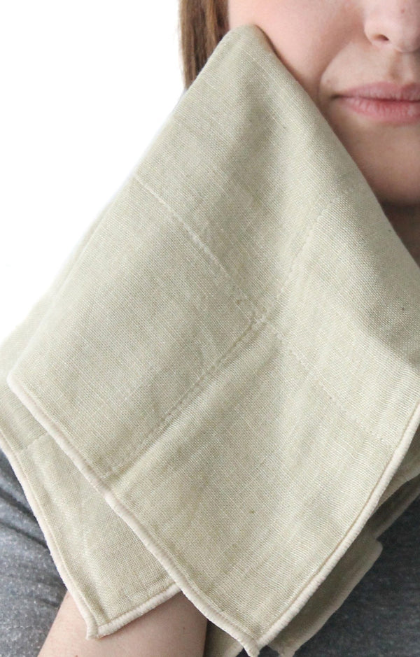Nawrap Organic Cotton Face Towel - Fendrihan - 14