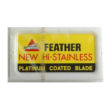 10 Feather Double-Edge Safety Razor Blades Razor Blades Feather