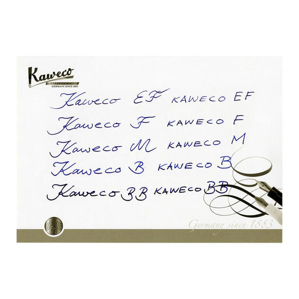 Kaweco AL Sport Aluminum Fountain Pen, Grey - Fendrihan - 3